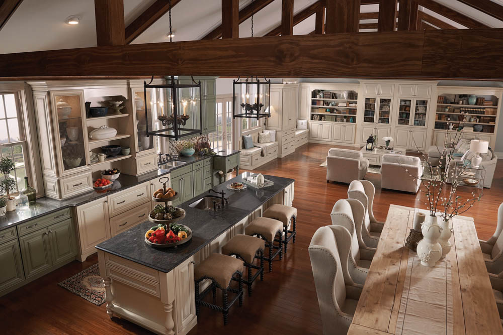 A Traditional Style Kitchen