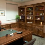 A traditional Style Office Arrangement