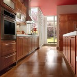 Attractive Cherry Wood Kitchen