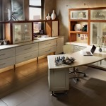 Great Looking Contemporary Desk and Office Space