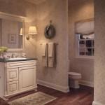 Traditional Style Bathroom Installation