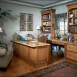 Attractive Oak Cabinetry