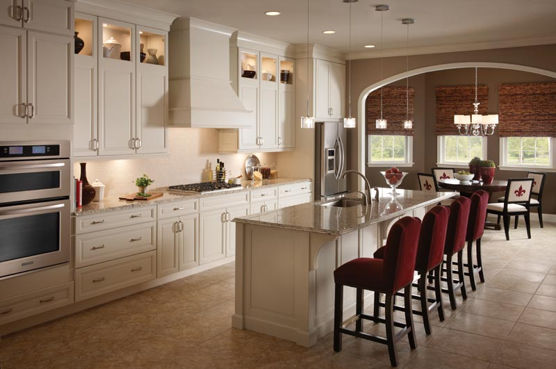 An Elegant Contemporary Style Kitchen