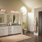 Bathroom with Limestone Countertops