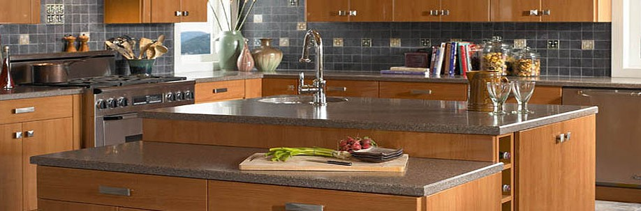 Modern Style Granite Kitchen Countertops