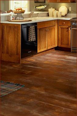 Kitchen decor kitchen floor practical solutions for Kitchen floor solutions